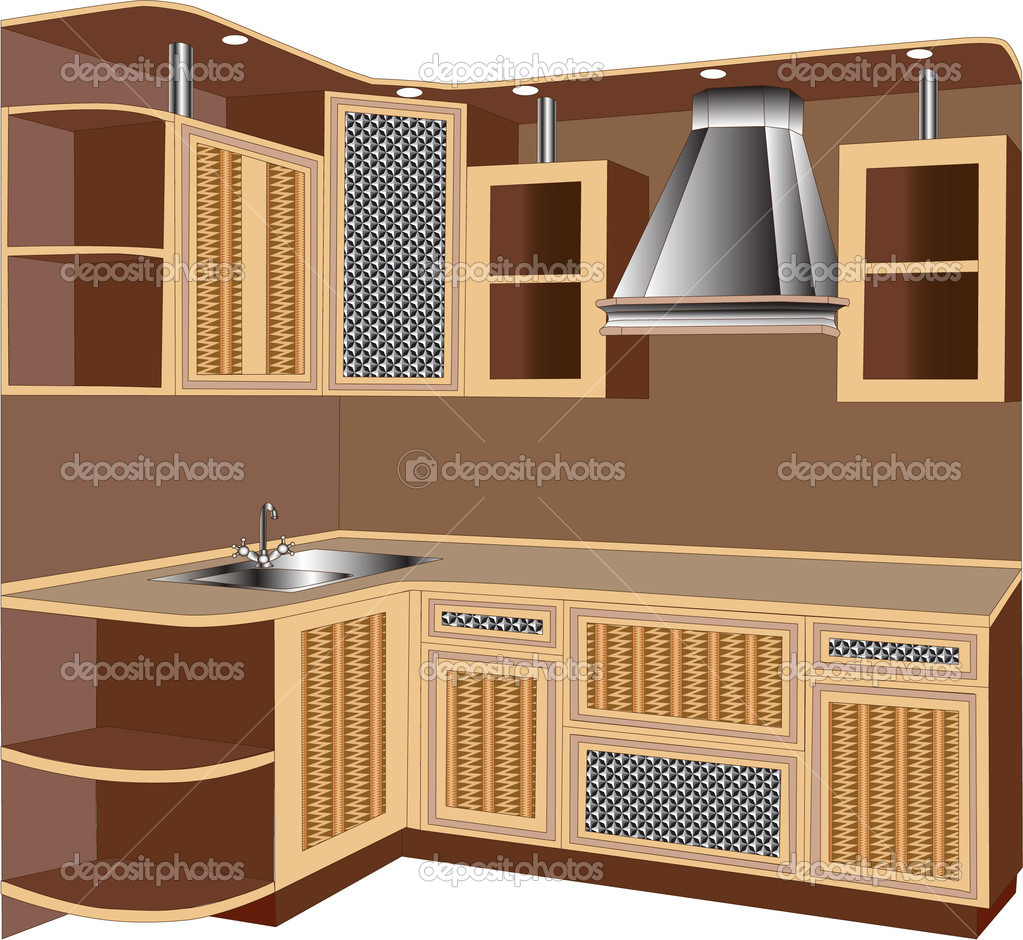 Muebles De Interior Vector De Stock Yurkina 6303869 # Muebles Deinterior