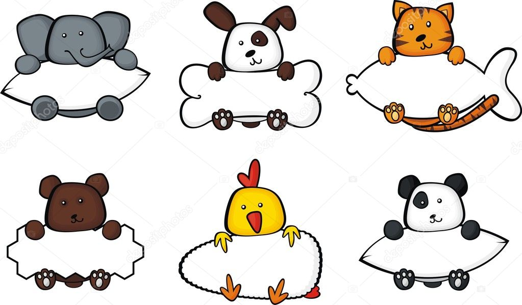 Animal frames set