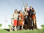 Skupina sever amerických indiánů