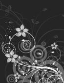 Květinové pozadí abstraktní design