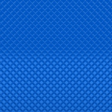 3d metal modern blue pattern