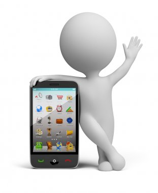 3d small - smartphone
