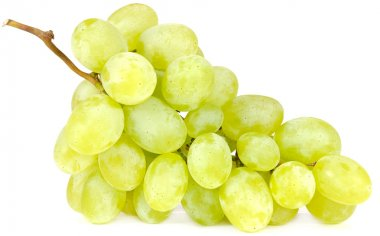 Cluster of White Grapes