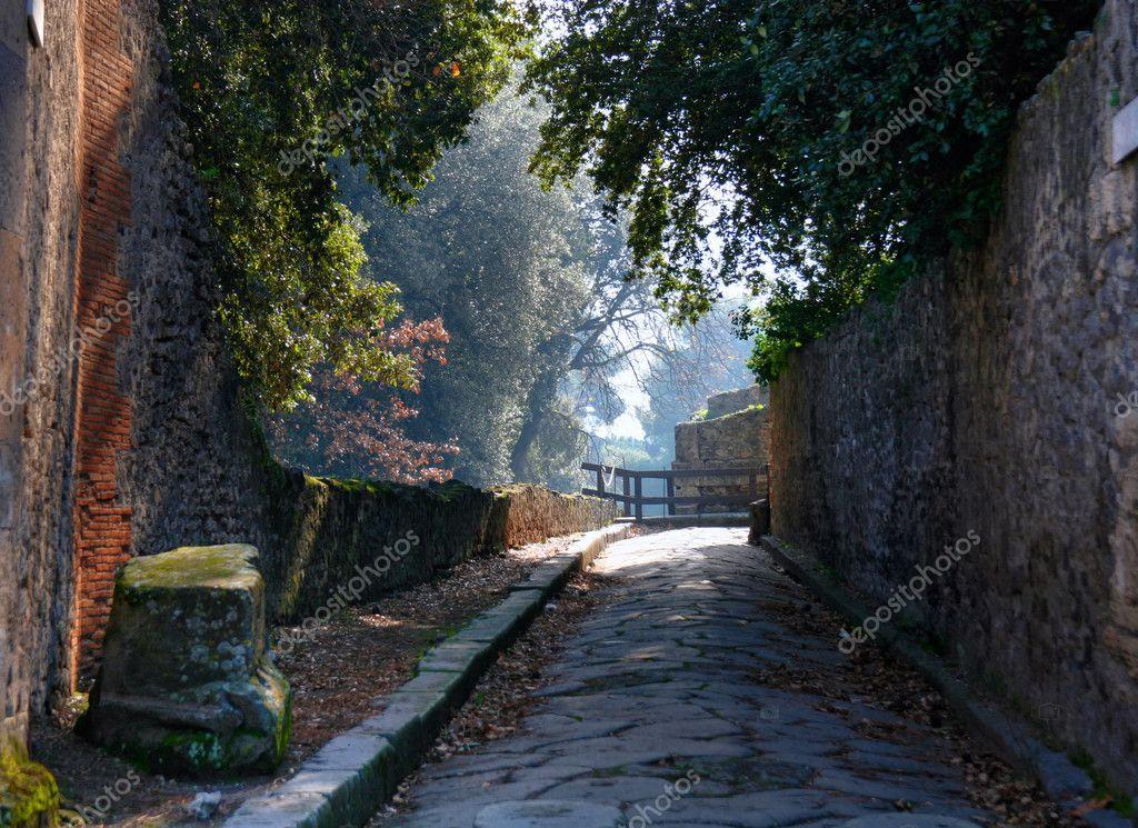Pompeii garden