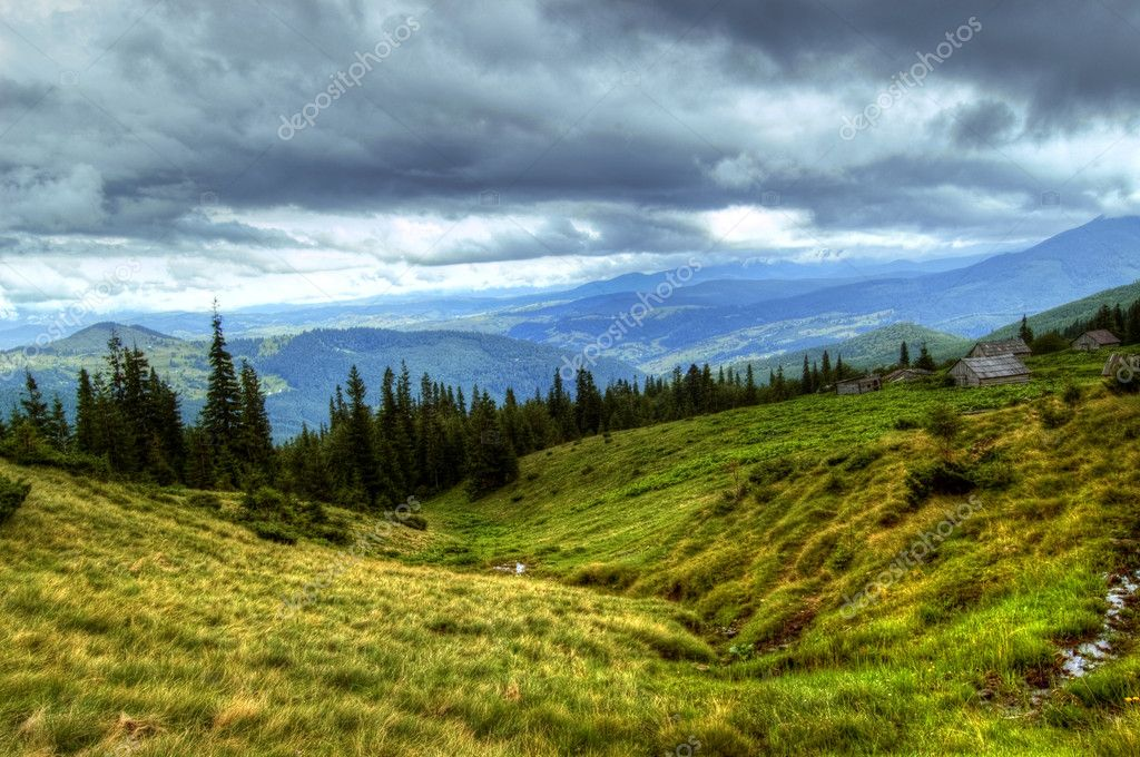 Mountains landscape