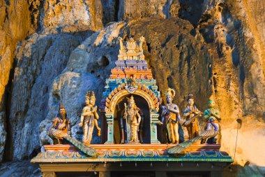 Statue of hindu god at Batu caves, Kuala-Lumpur, Malaysia stock vector