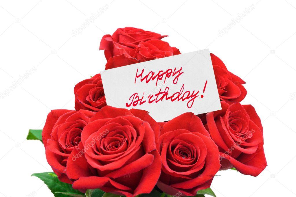 roses and card happy birthday stock photo violin 5784436