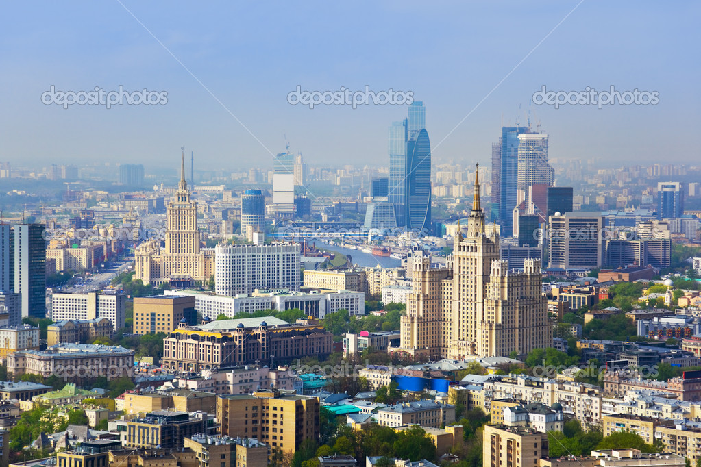 Centre of Moscow - Russia