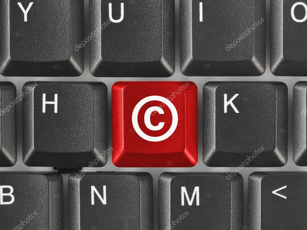 Computer keyboard with copyright symbol stock photo violin computer keyboard with copyright symbol business concept photo by violin buycottarizona Gallery