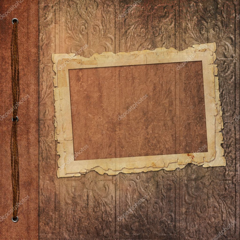 Retro frames from old photo album — Stock Photo © welena #5835165