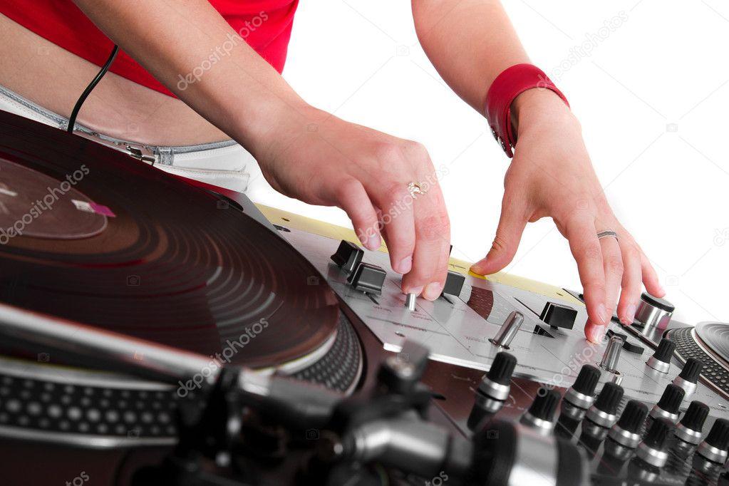 Звук дисков диджея скачать