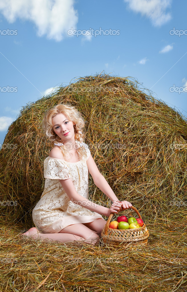 Все фото деревенской русской блонды скачать фото 133-692