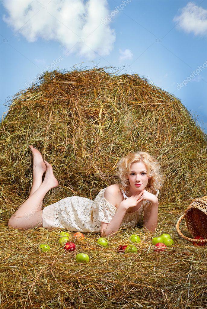 Все фото деревенской русской блонды скачать фото 133-427