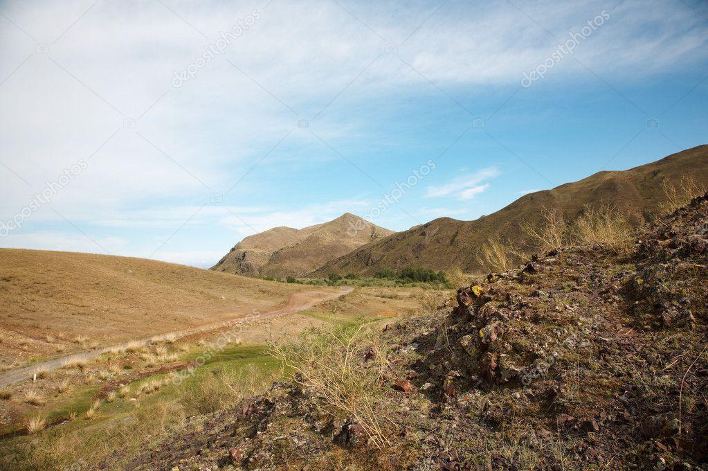 Roud West Sayan Mountains
