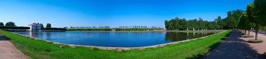 Landscape in Peterhof