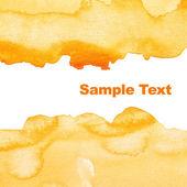 žluté pozadí abstraktní akvarel