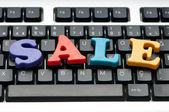 Prodej slovo na klávesnici