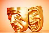Masky s konceptem divadla