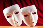 Fotografie masky s konceptem, divadlo