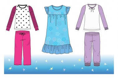 Pajamas for girl