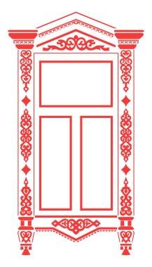Traditional Russian window_2