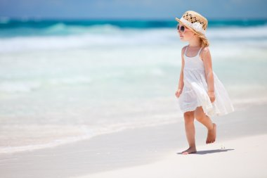 Little lady at beach