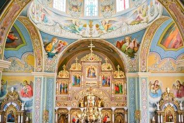 The Interior of Ukrainian Orthodox Church