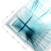 3D-Architekturkonzept