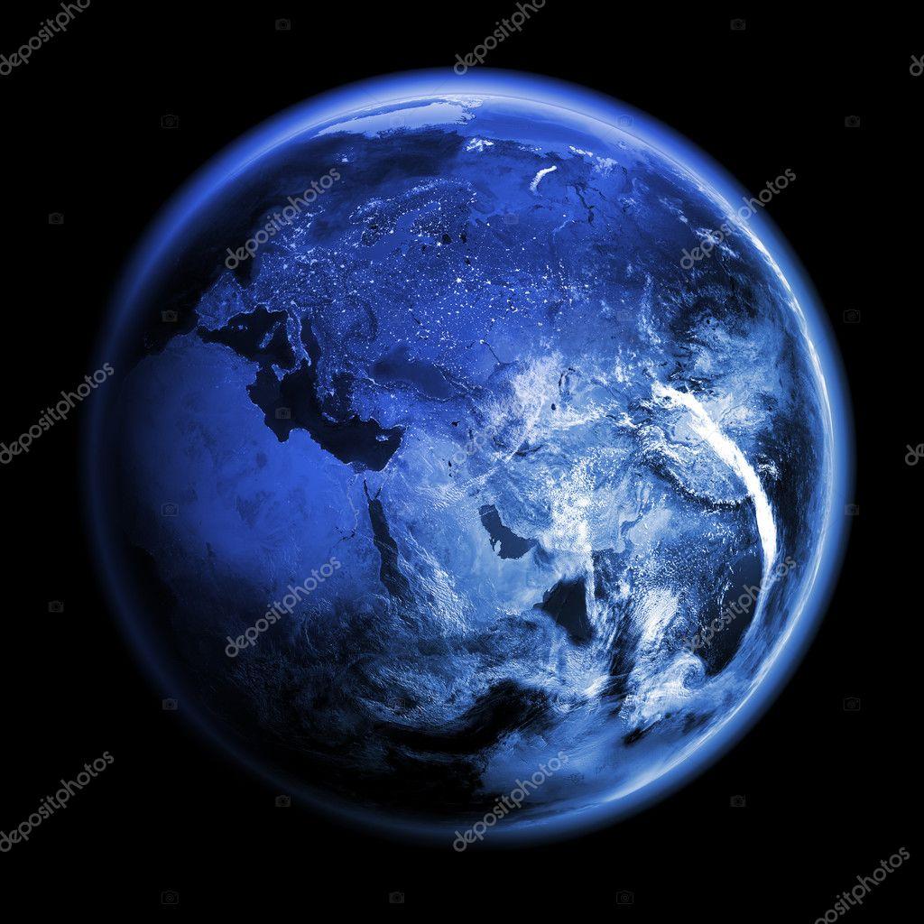 Planet Earth 3d render