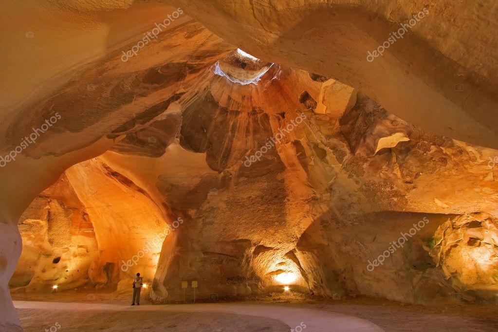 A primitive cave