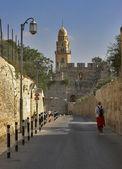Fotografie Street of ancient city.
