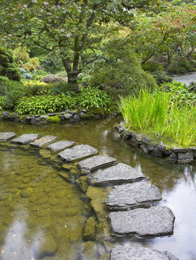 Path from stones