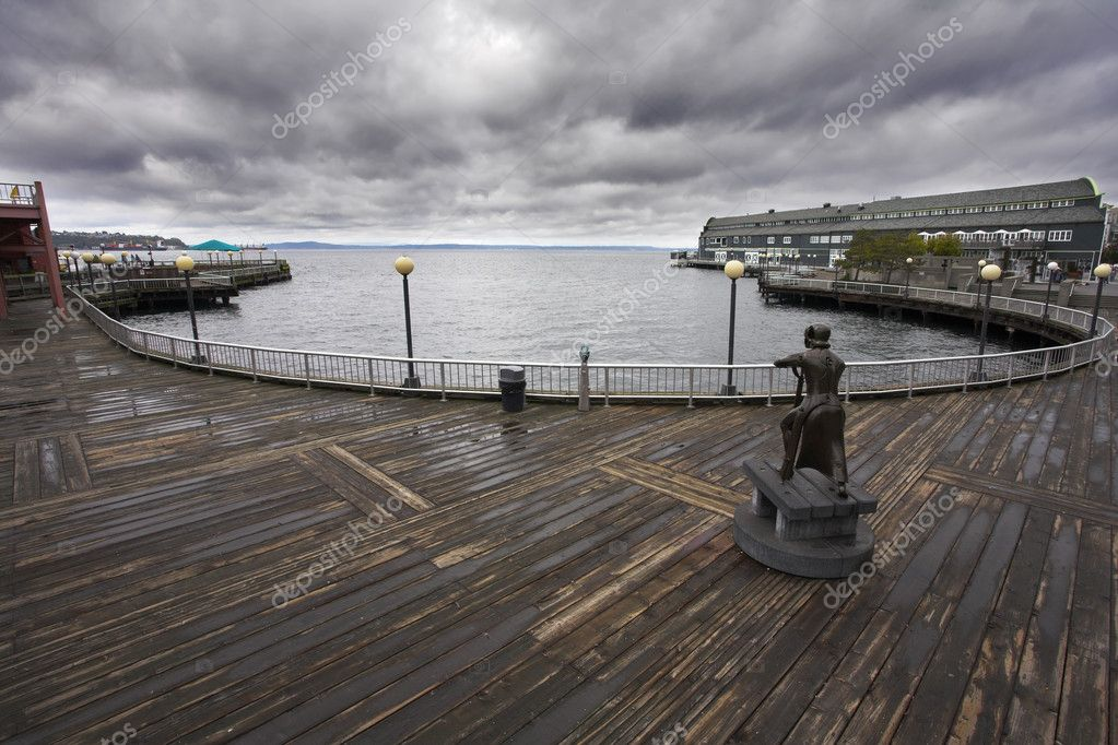 The port of Seattle