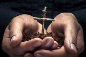 Croce nelle mani