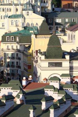 View at downtown buildings, Kiev, Ukraine