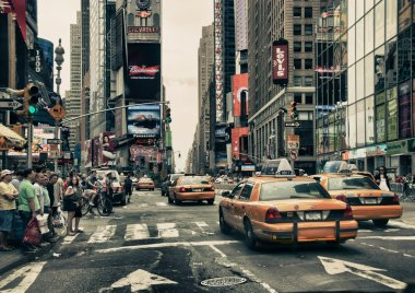 New York Streets and Taxis