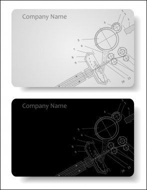 business card for the engineer