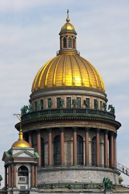 Dome of the Isakievsky cathedral