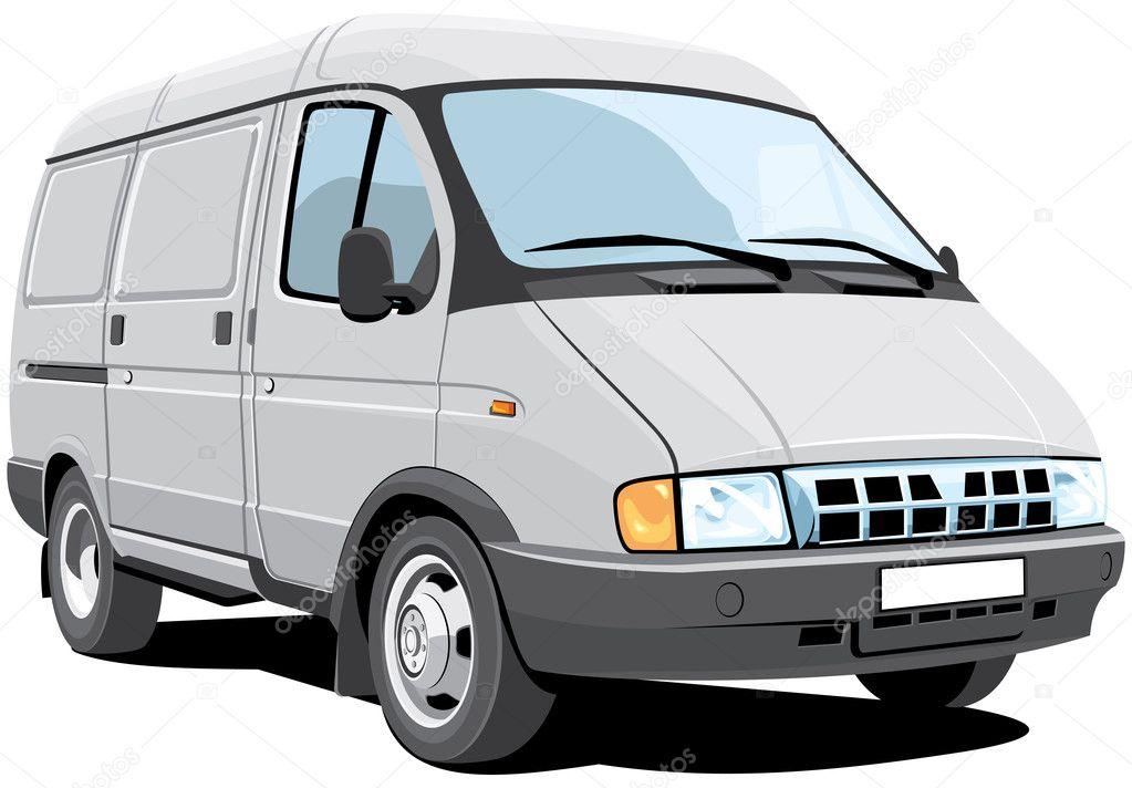 camionnette de livraison vettoriali stock alexey71 6326617. Black Bedroom Furniture Sets. Home Design Ideas
