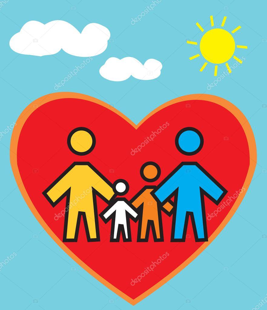 Стенд я и моя семья картинки