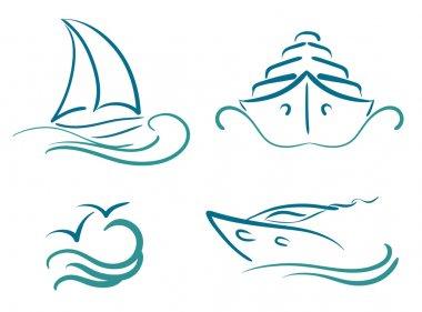 Yachting symbols