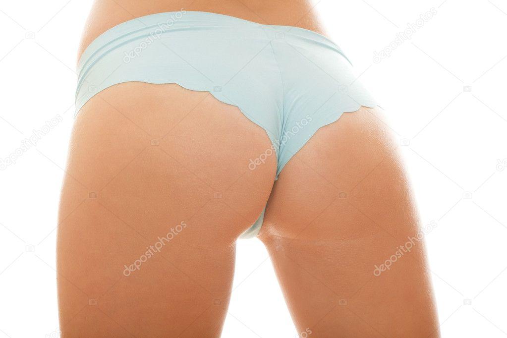 Pretty female backside