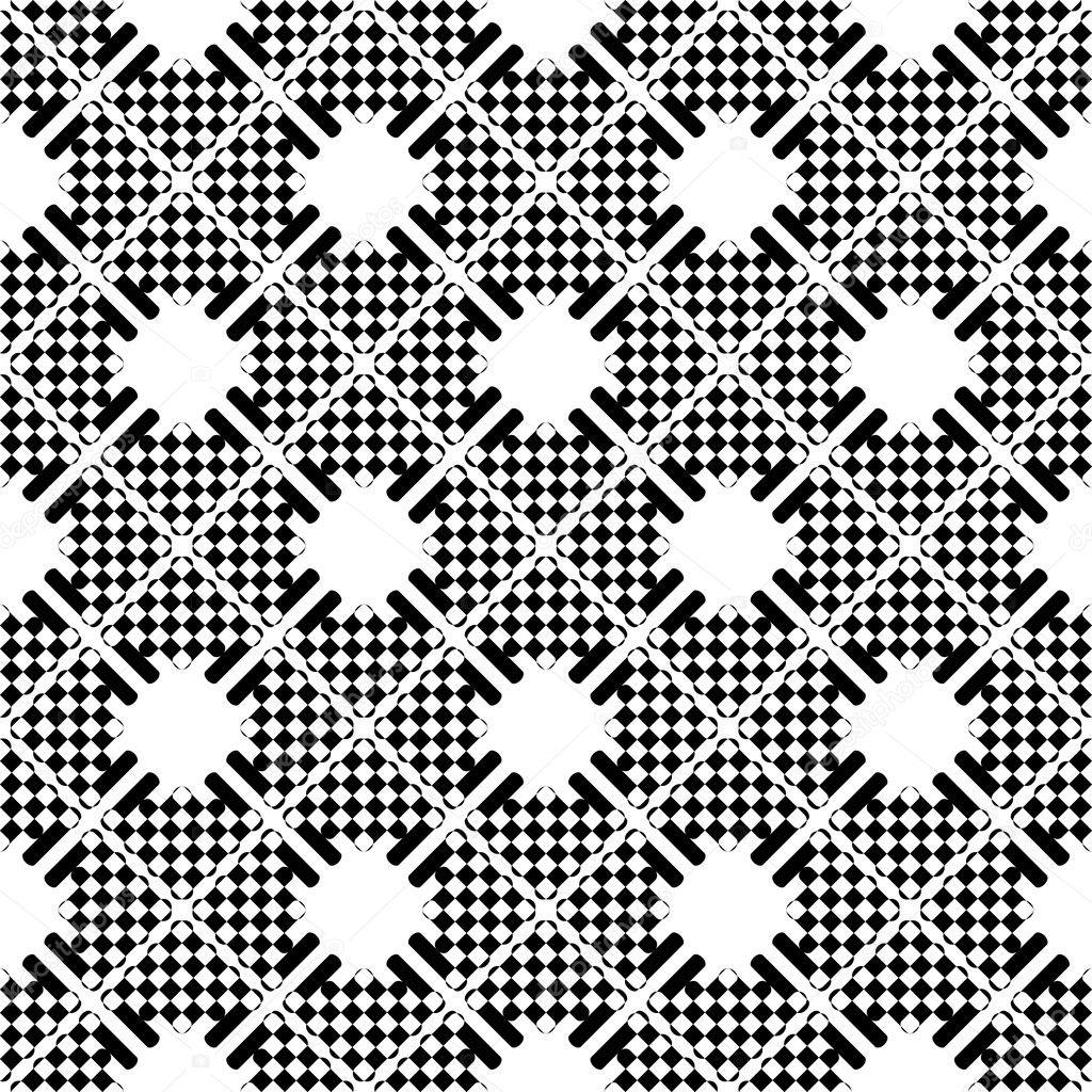 Checkered Design Seamless Checkered Pattern Stock Vector Ac Troyka 5658308