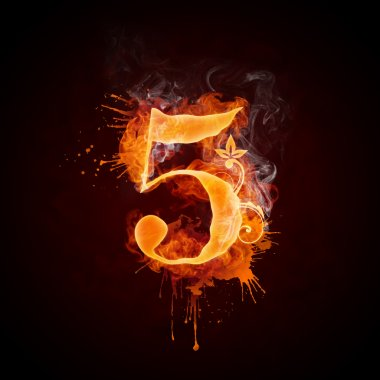 Fire Swirl Number 5