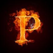 tűz a betűk a-z