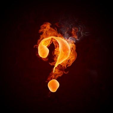 Fire Question Mark