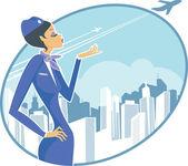 Airhostess
