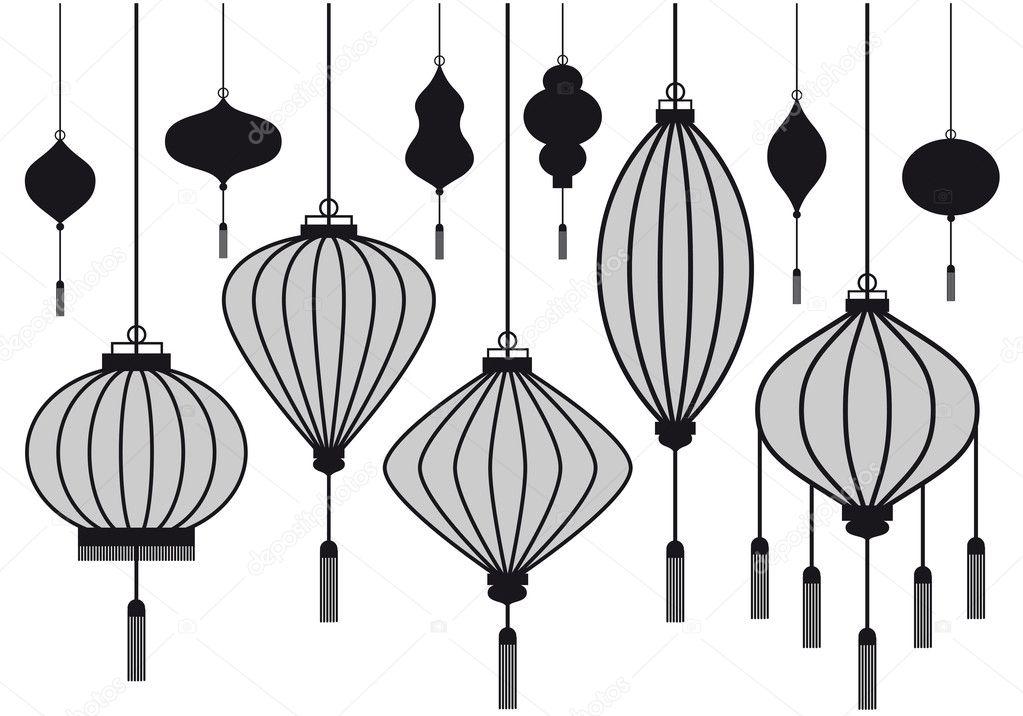 Vector lantern