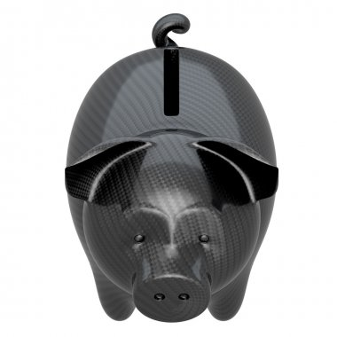 Carbon fiber piggy bank: stability and confidence