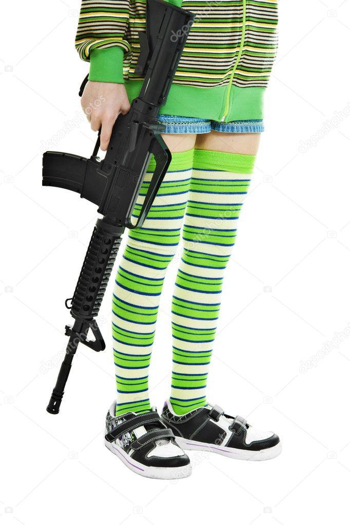 ηλεκτρικό γυναικείο όπλο